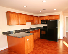 Kitchen for apartment rentals